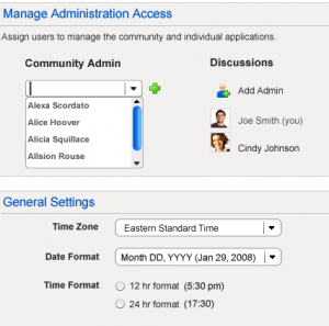 Admin Interface